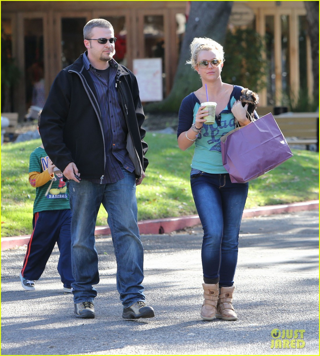 britney spears coffee bean with sean preston jayden james 182760652