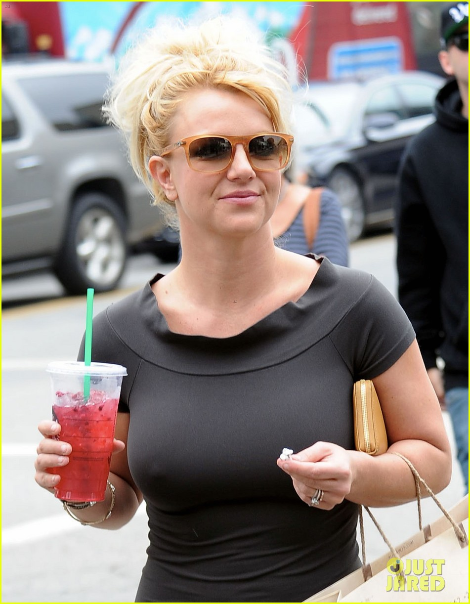 britney spears pre x factor starbucks stop 04