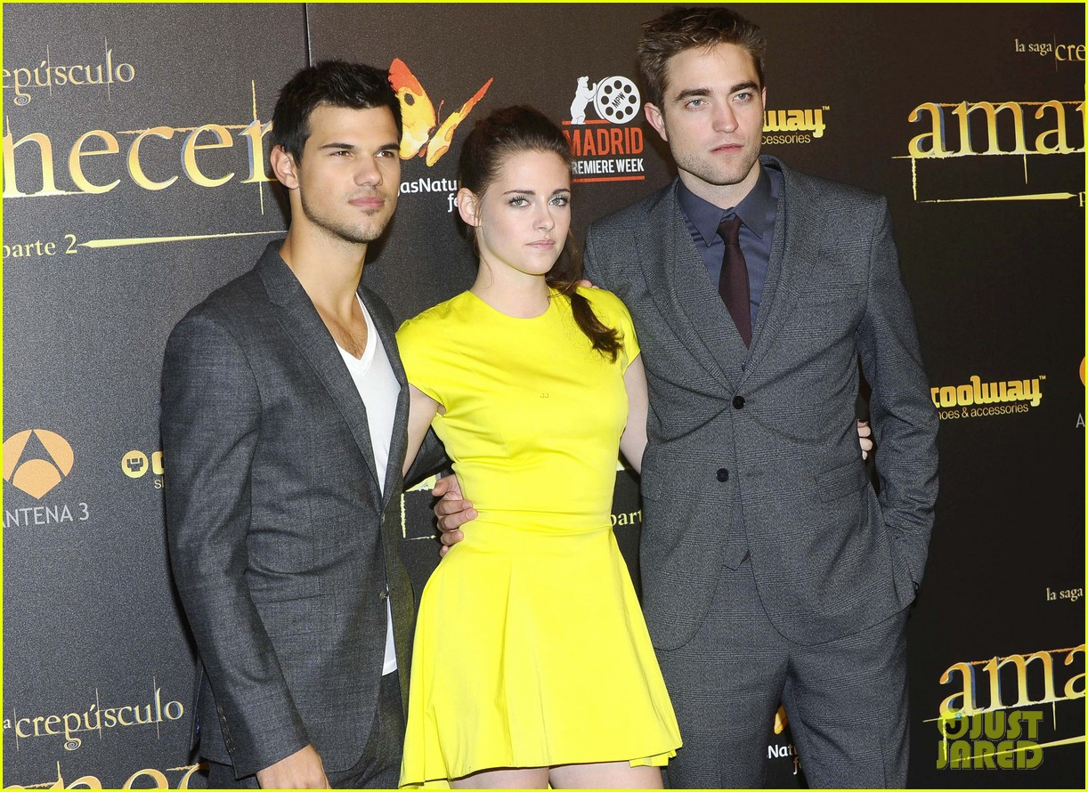 kristen stewart robert pattinson breaking dawn madrid premiere 092758322