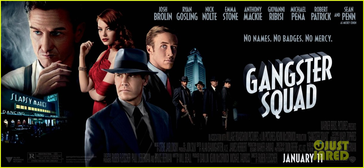 emma stone new movie 43 gangster squad posters 10