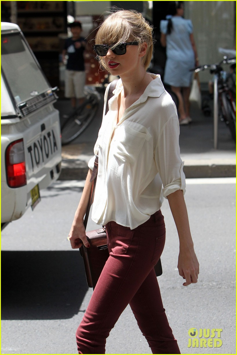 taylor swift shopping in sydney 29