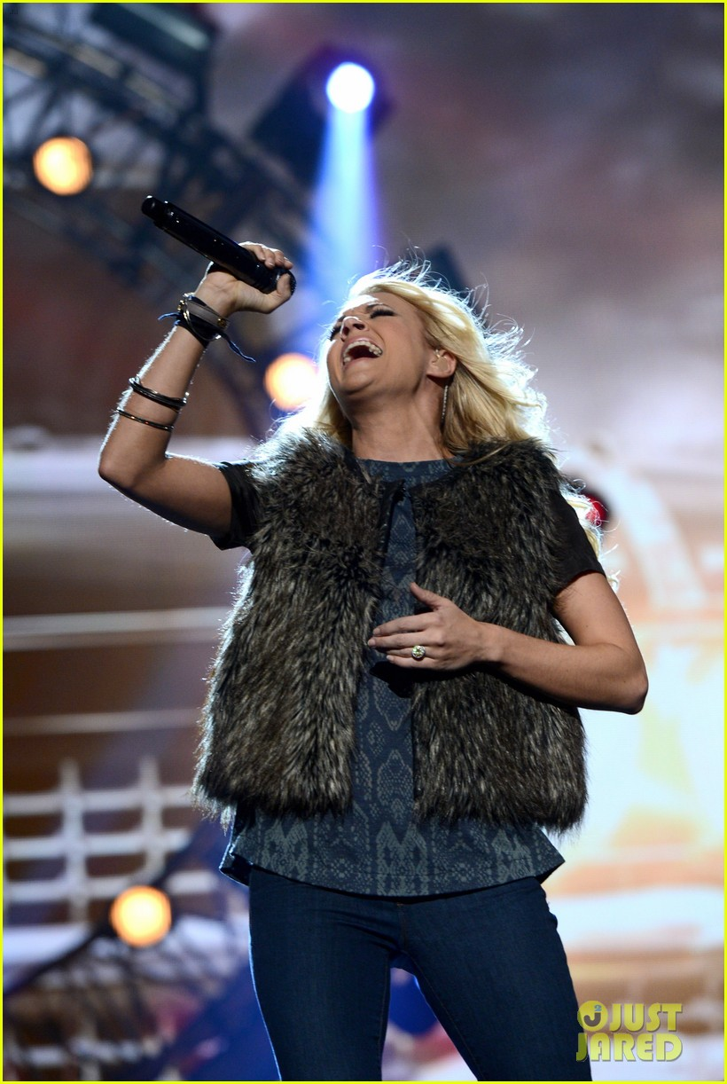 carrie underwood amas rehearsals 2012 03