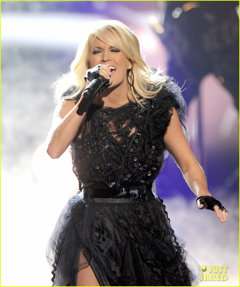 carrie underwood amas performance 02