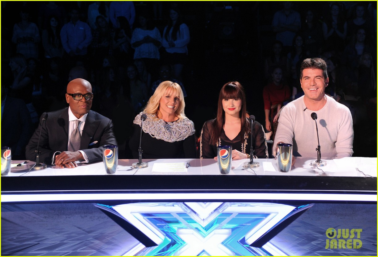 britney spears demi lovato x factor top 16 recap 14