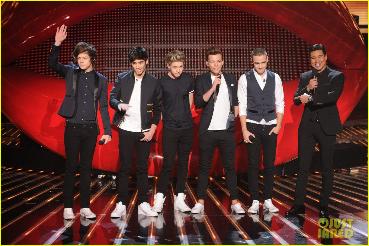 one direction performs kiss you on x factor finale 03