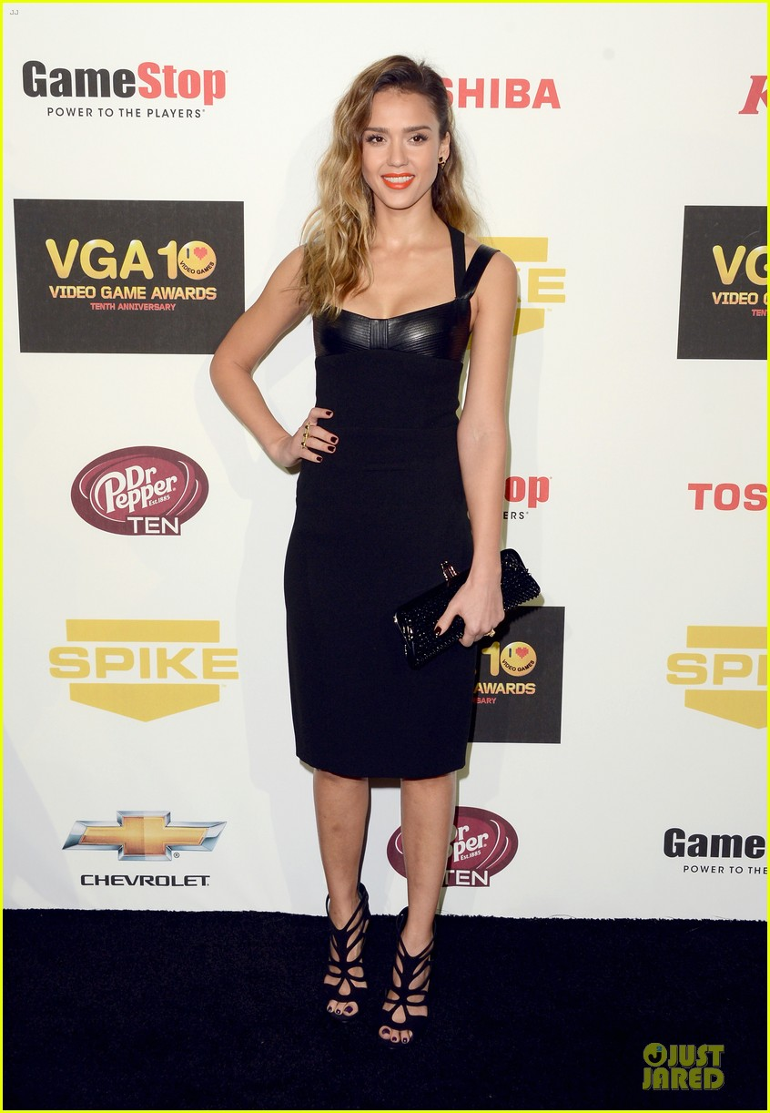 jessica alba spike tv video game awards 01