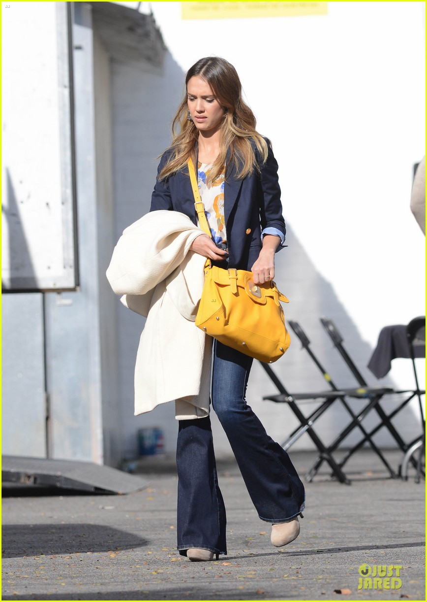 jessica alba hollywood film studio stop 162778221