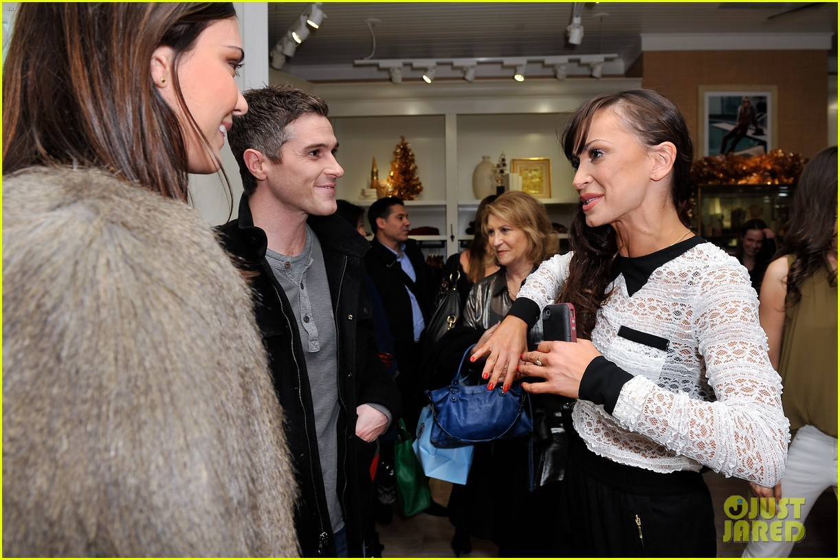 dave annable lucky brand store opening with odette 13