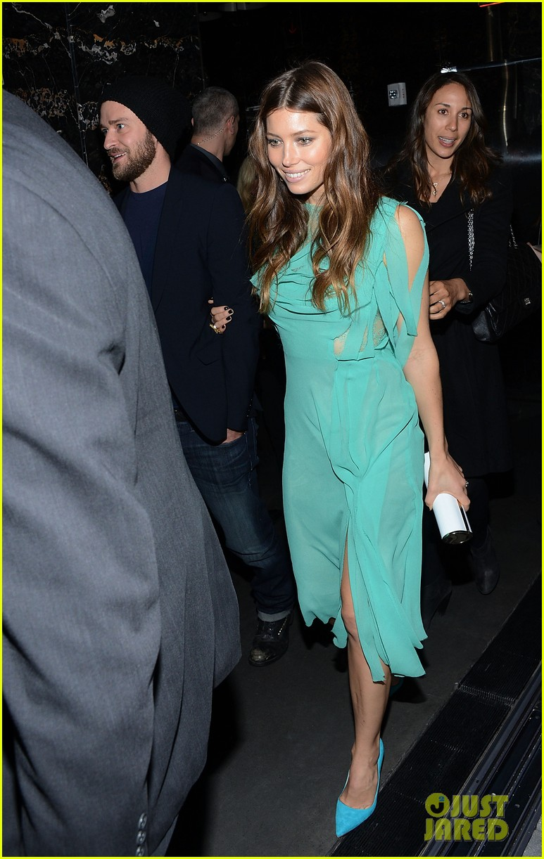 jessica biel justin timberlake playing for keeps premiere after party 01