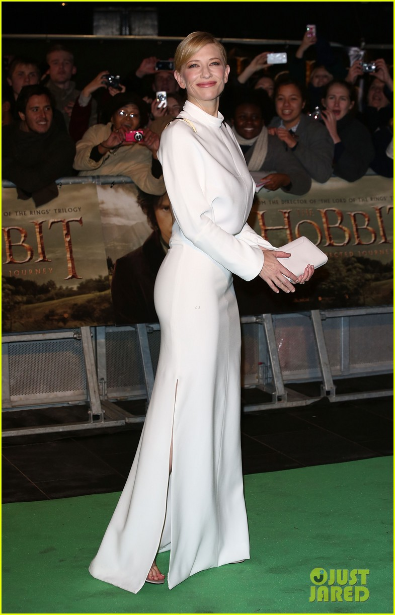 cate blanchett the hobbit london premiere 01
