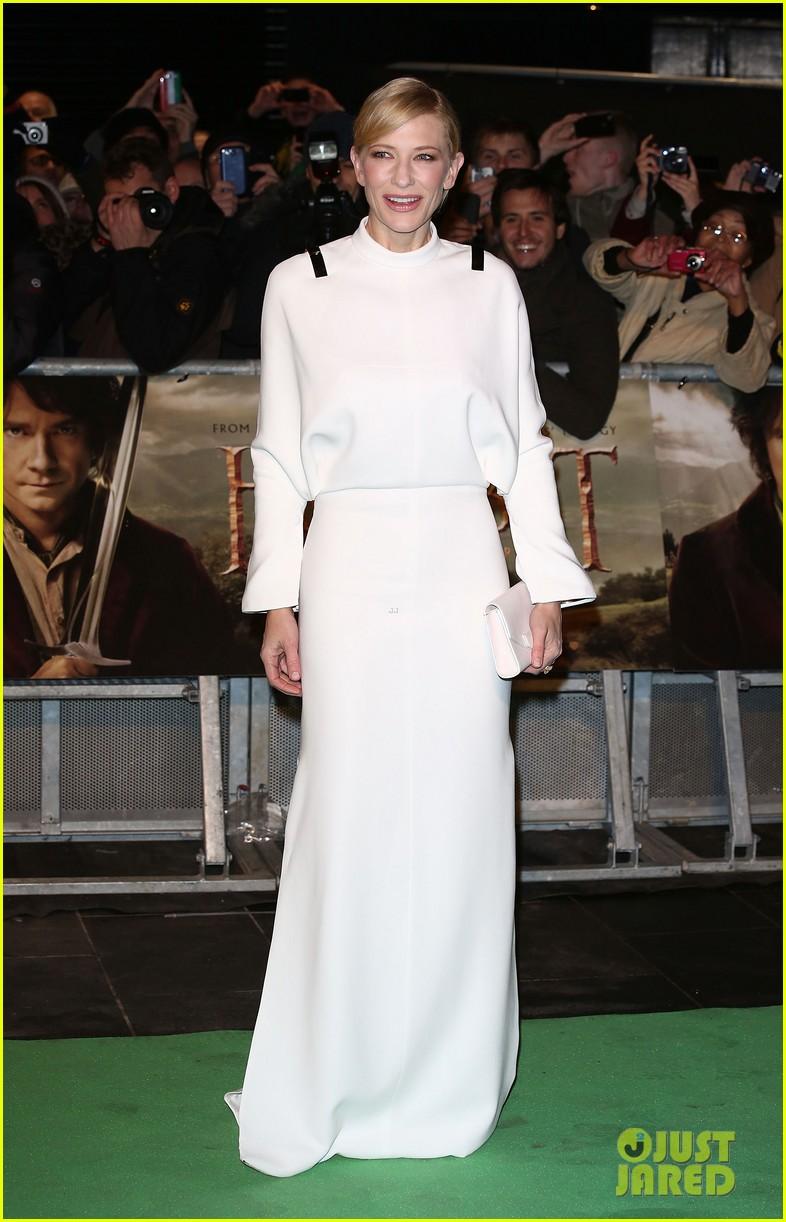 cate blanchett the hobbit london premiere 04