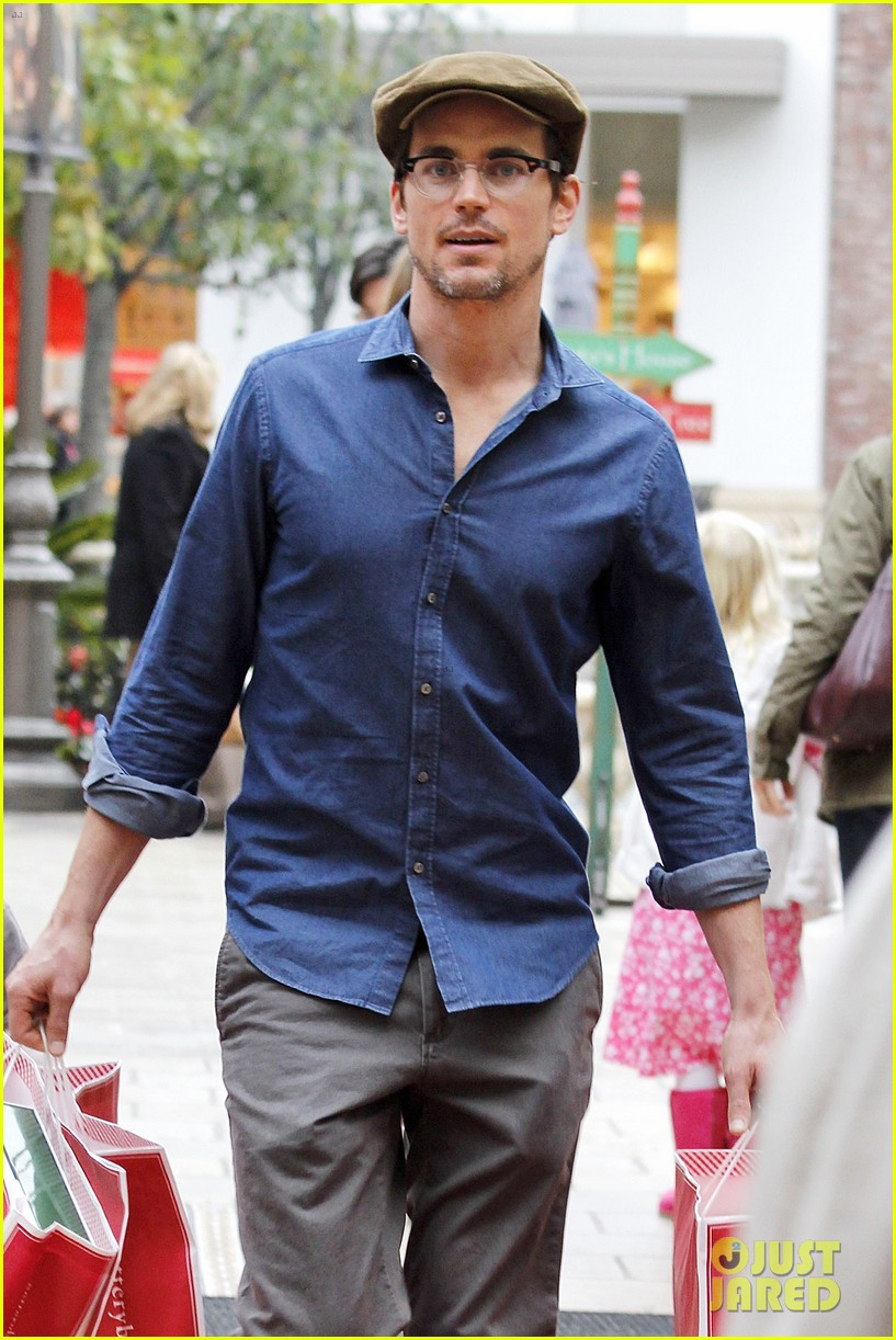 matt bomer shopping the grove 052775090