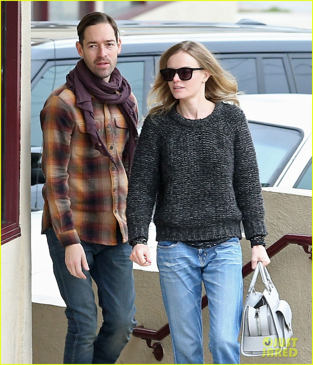 kate bosworth michael polish fatburger lunch 02