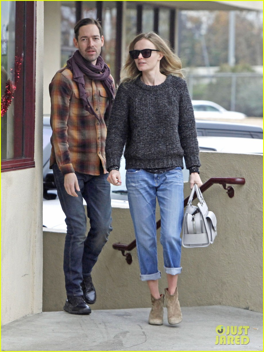kate bosworth michael polish fatburger lunch 082779790