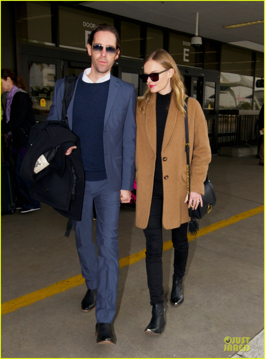 michael polish monitors topshop video with kate bosworth by his side 01
