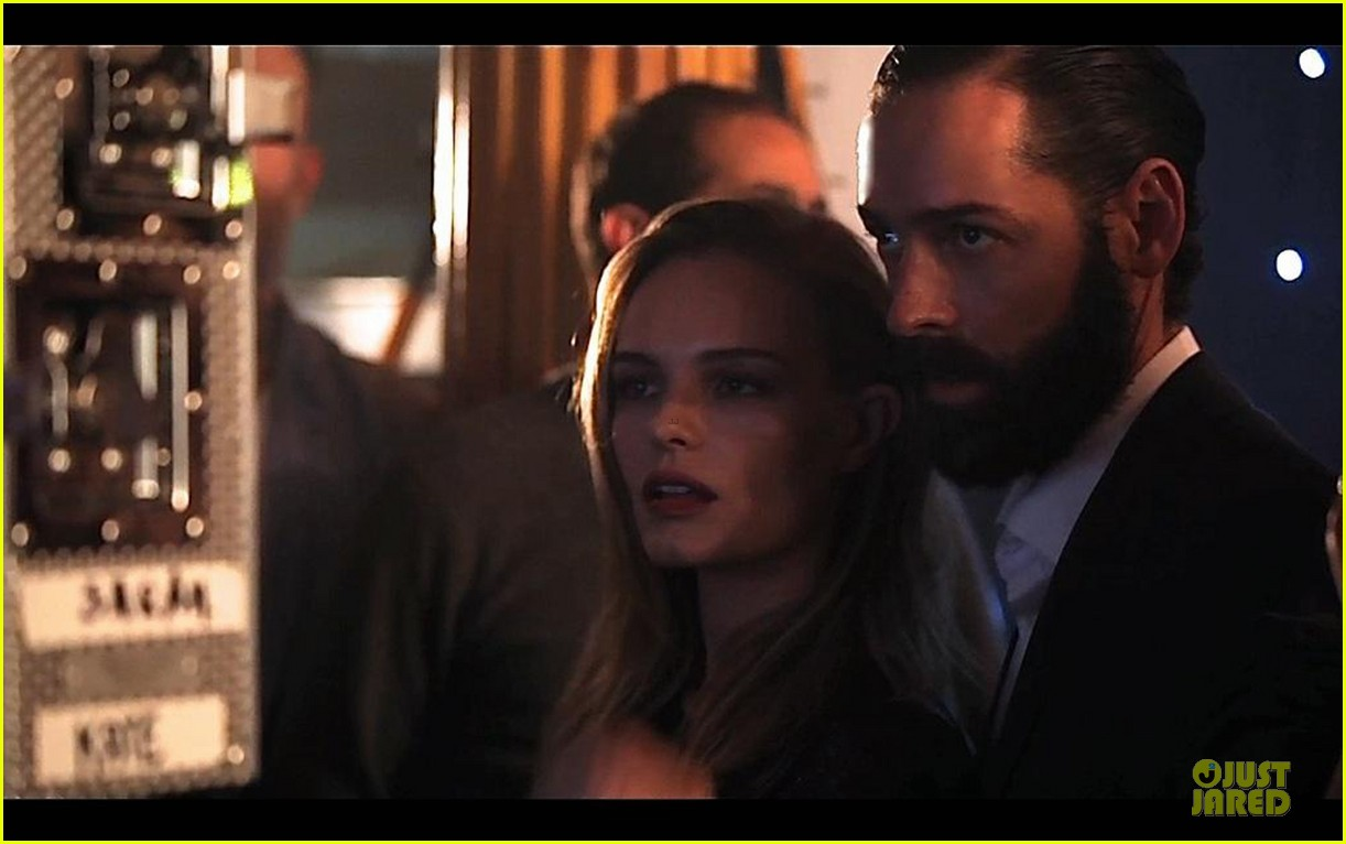 michael polish monitors topshop video with kate bosworth by his side 05