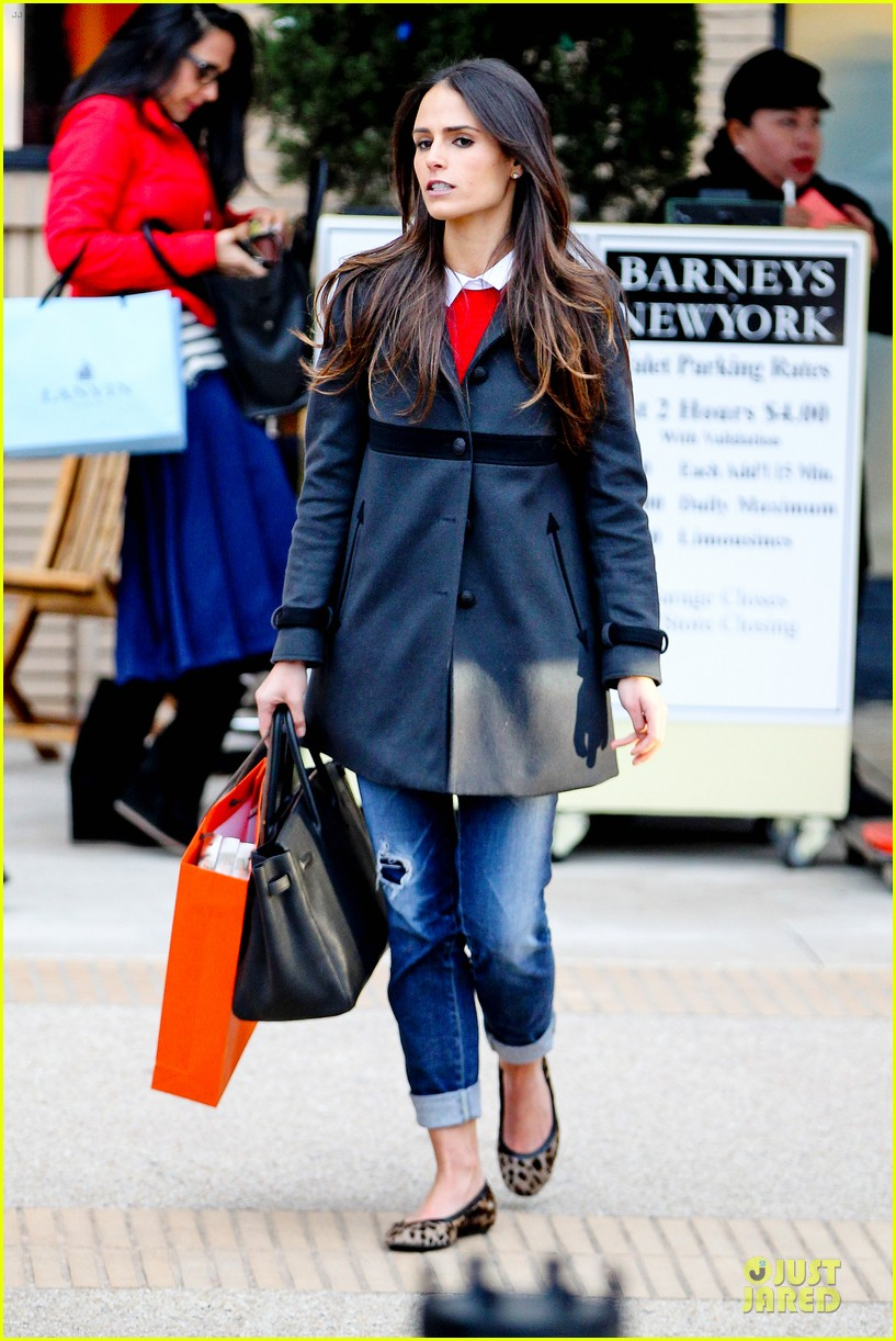 jordana brewster holiday shopping at barneys new york 09
