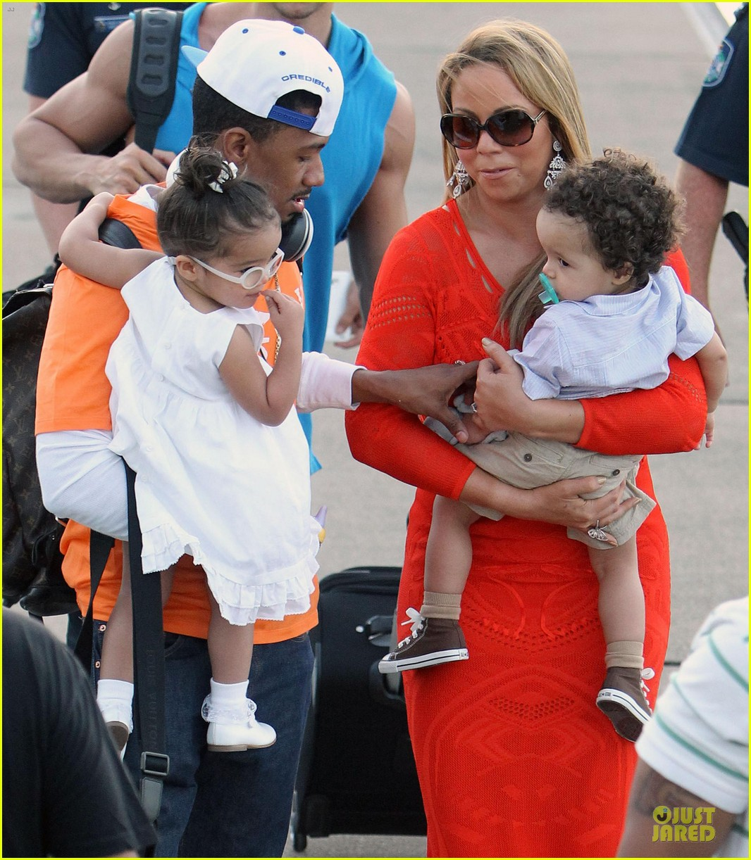 mariah carey & nick cannon australia sailing with the twins 04