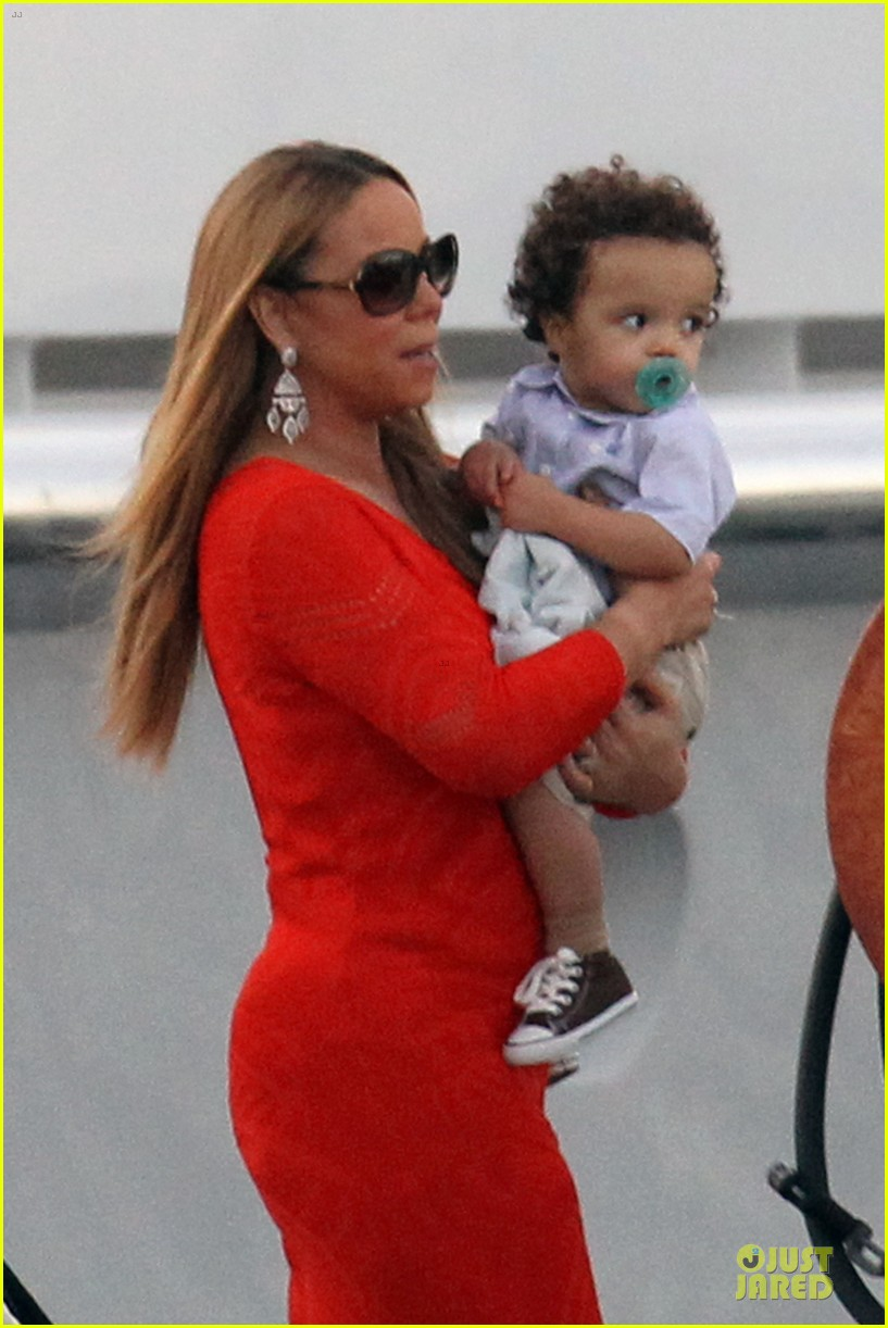 mariah carey & nick cannon australia sailing with the twins 08
