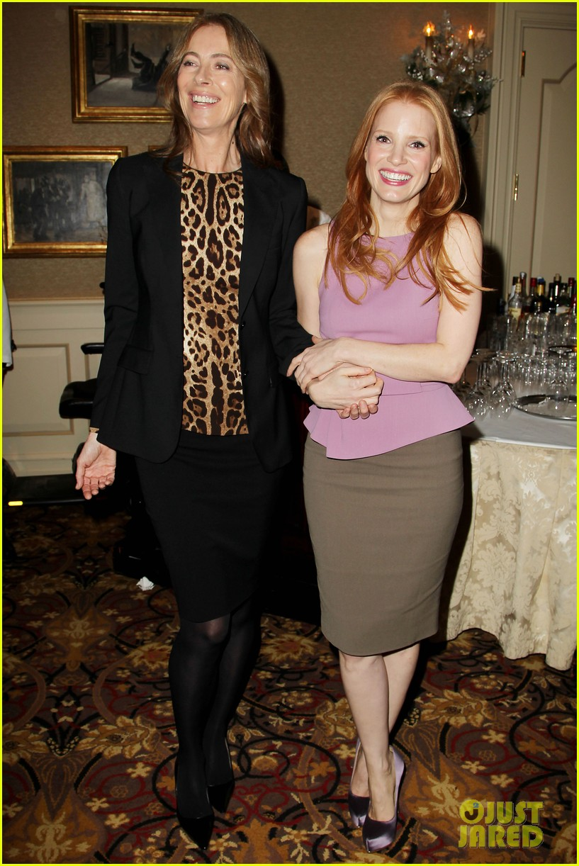 jessica chastain zero dark thirty celebration lunch 012770462