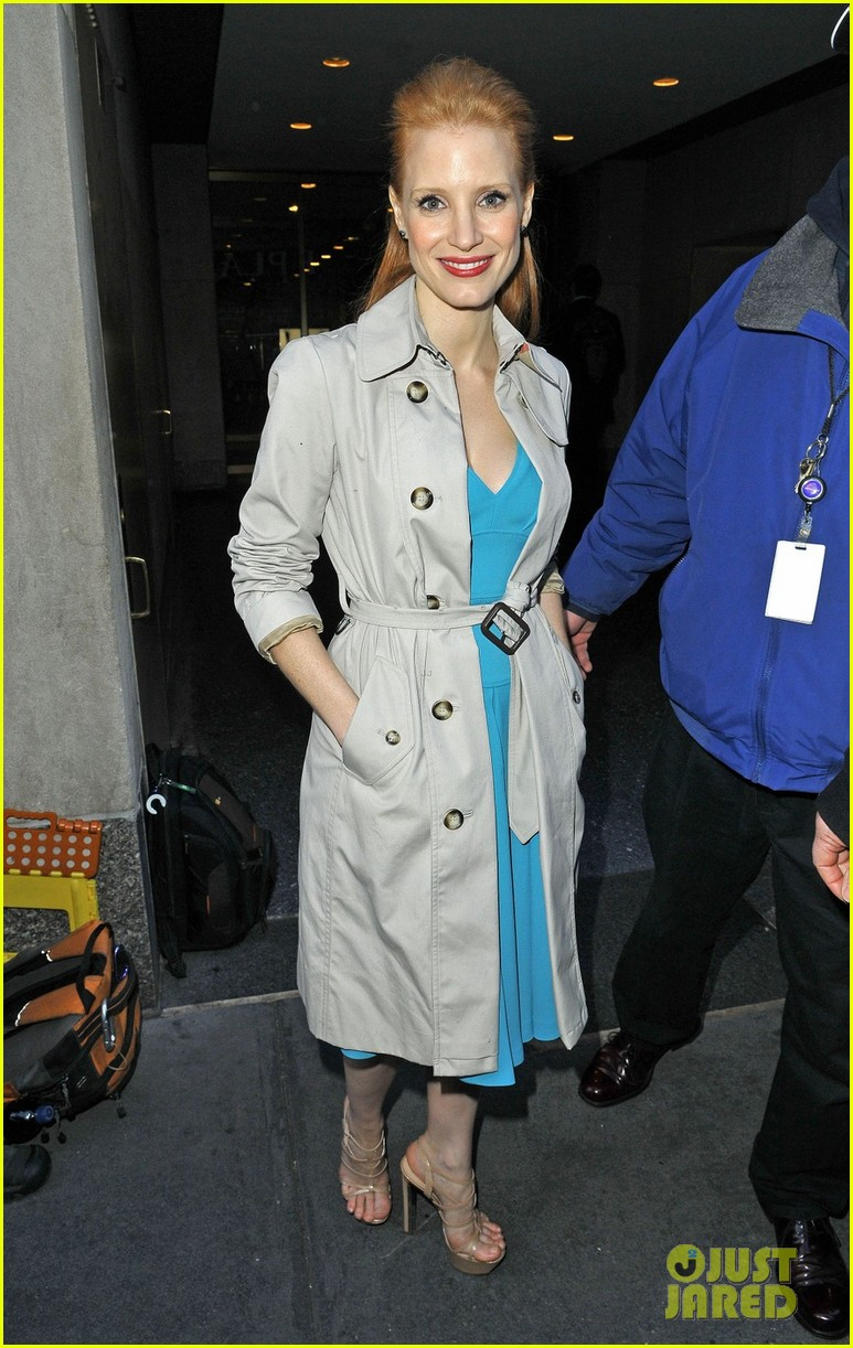 jessica chastain zero dark thirty celebration lunch 062770467