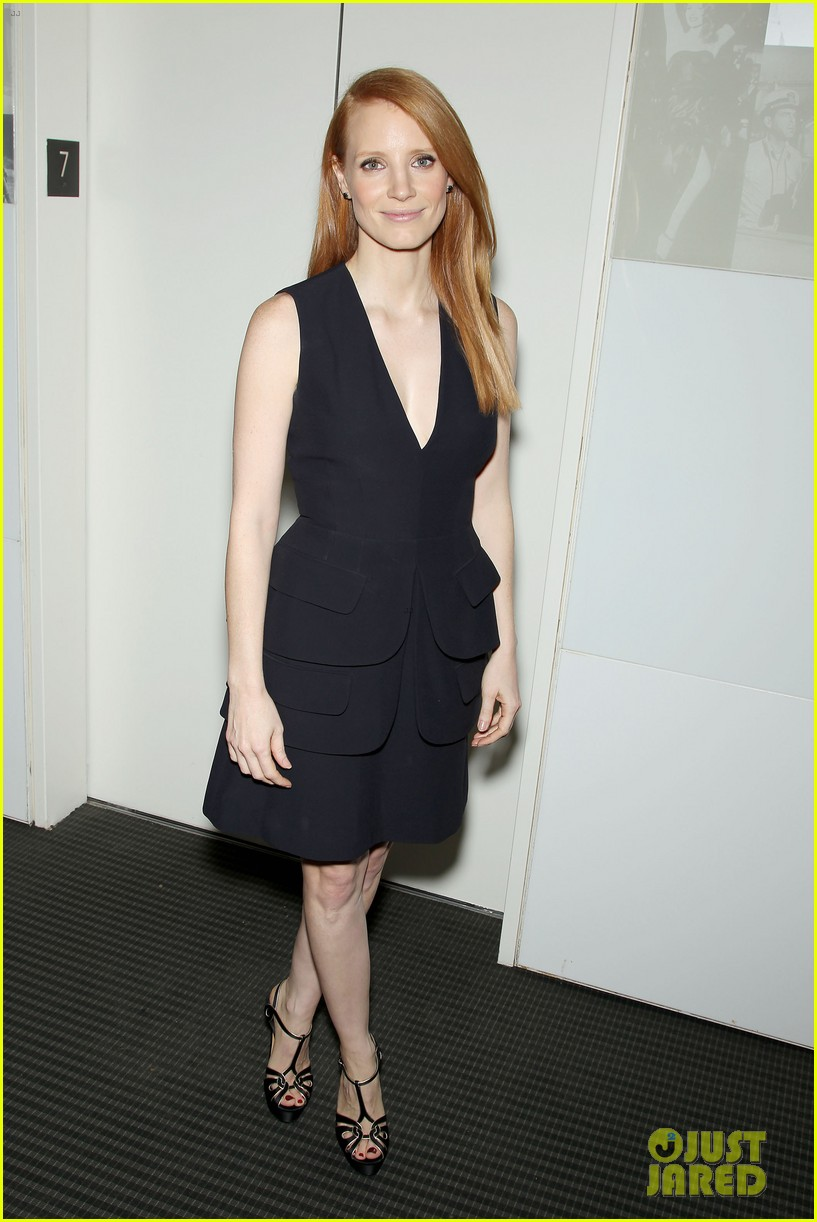 jessica chastain zero dark thirty screening with al pacino 05