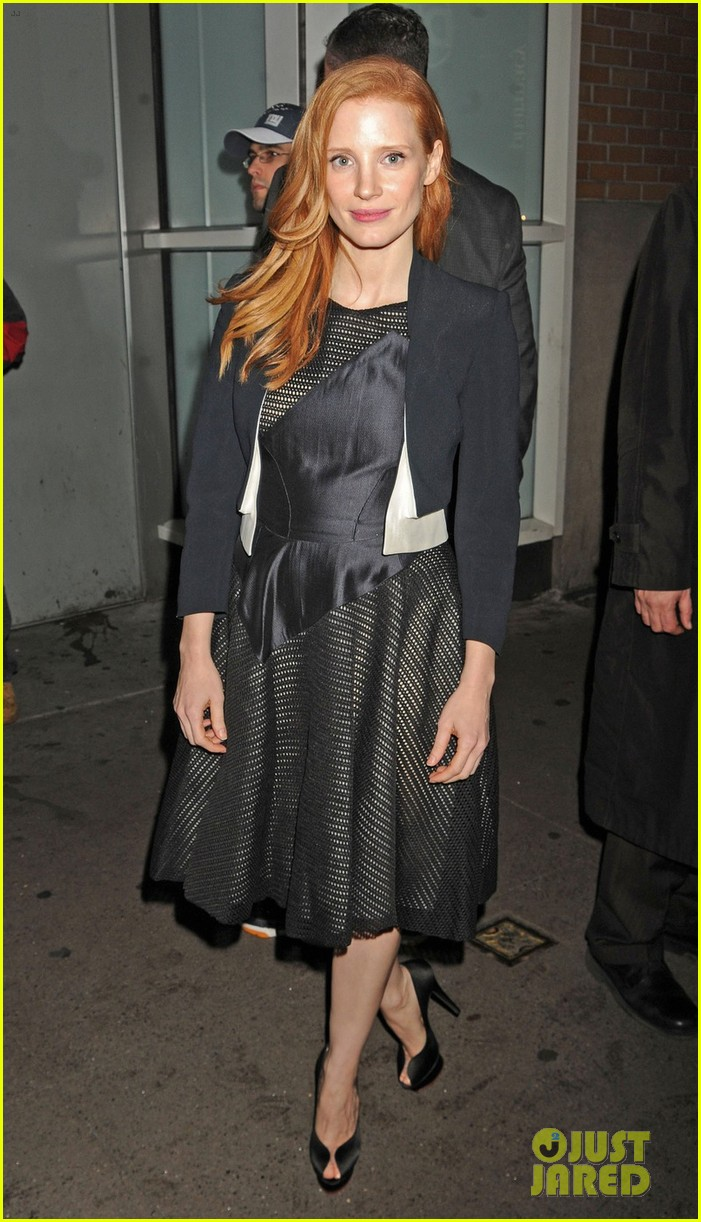 jessica chastain zero dark thirty promo in new york 03