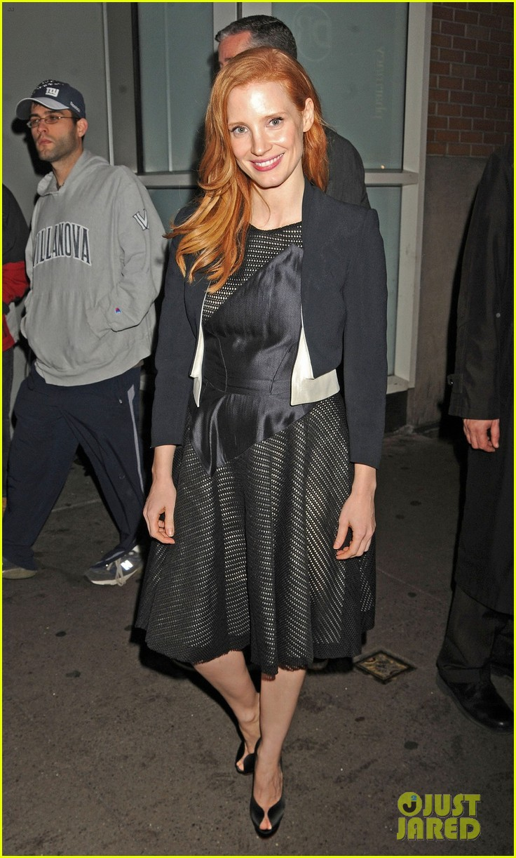 jessica chastain zero dark thirty promo in new york 062769025