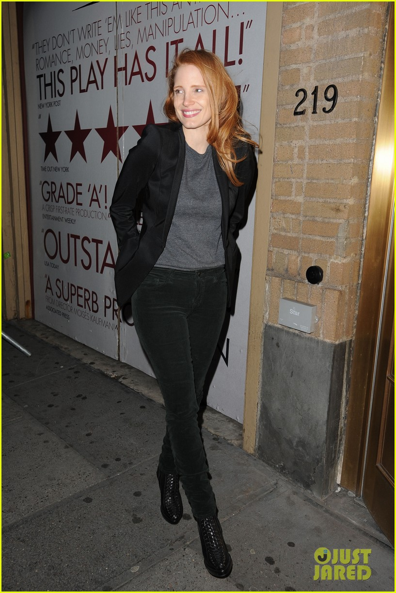 jessica chastain windswept at the heiress 03