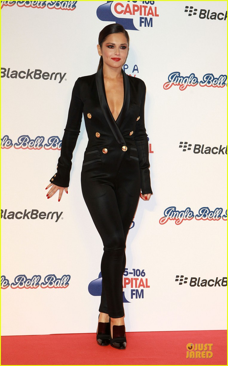 cheryl cole jingle bell ball attendee 05
