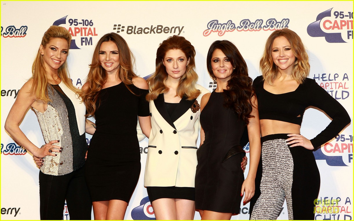 cheryl cole jingle bell ball attendee 24