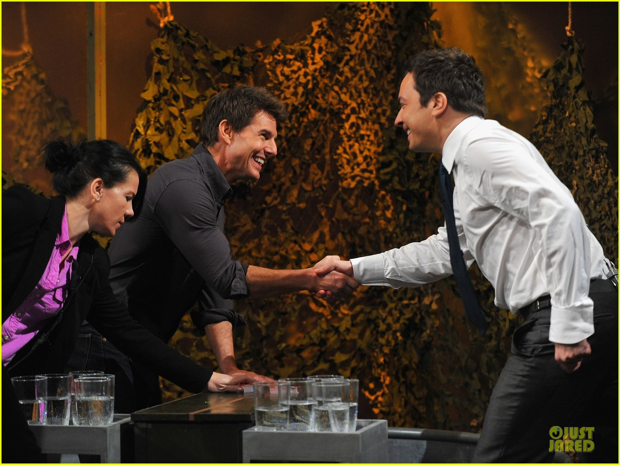 tom cruise water war with jimmy fallon 10