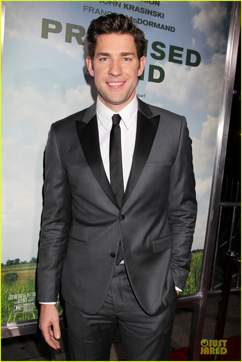 matt damon john krasinski promised land new york premiere 092769406