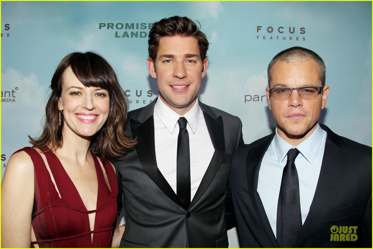 matt damon john krasinski promised land new york premiere 22