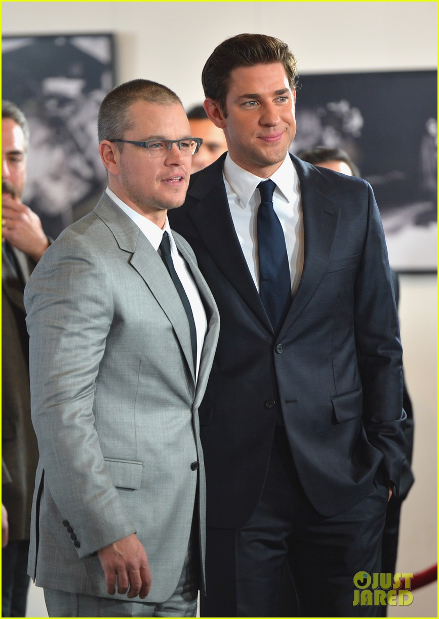 matt damon john krasinski promised land premiere 07