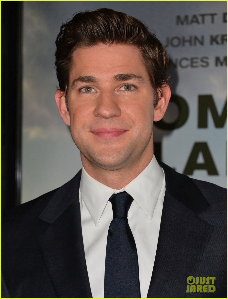 matt damon john krasinski promised land premiere 112771075