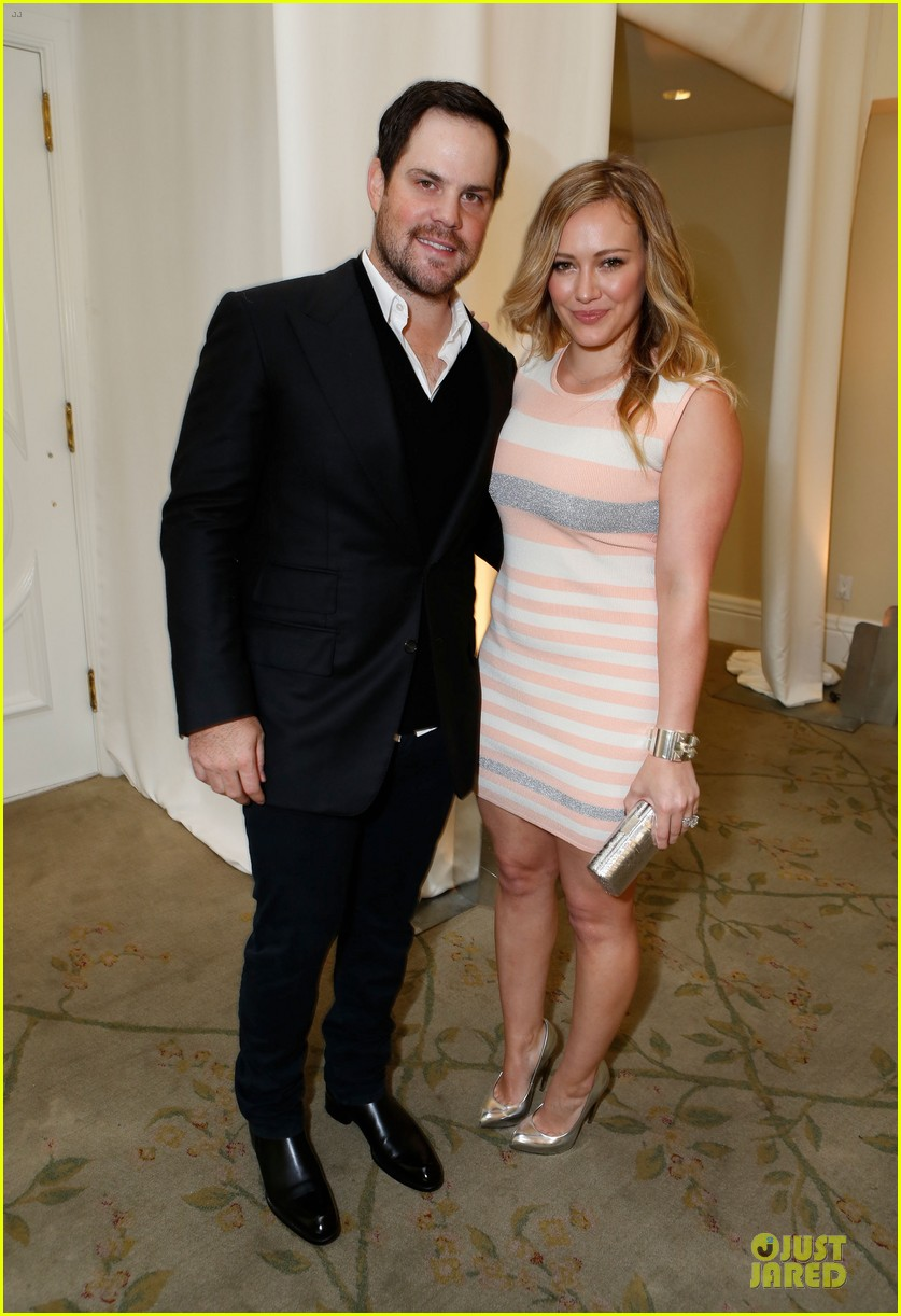 hilary duff mike comrie march of dimes 2012 03