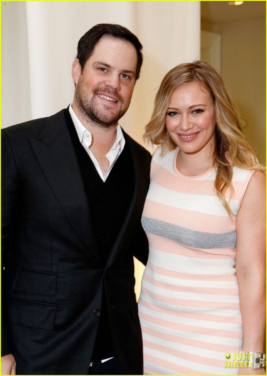 hilary duff mike comrie march of dimes 2012 07