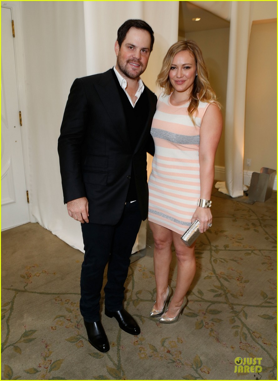 hilary duff mike comrie march of dimes 2012 11