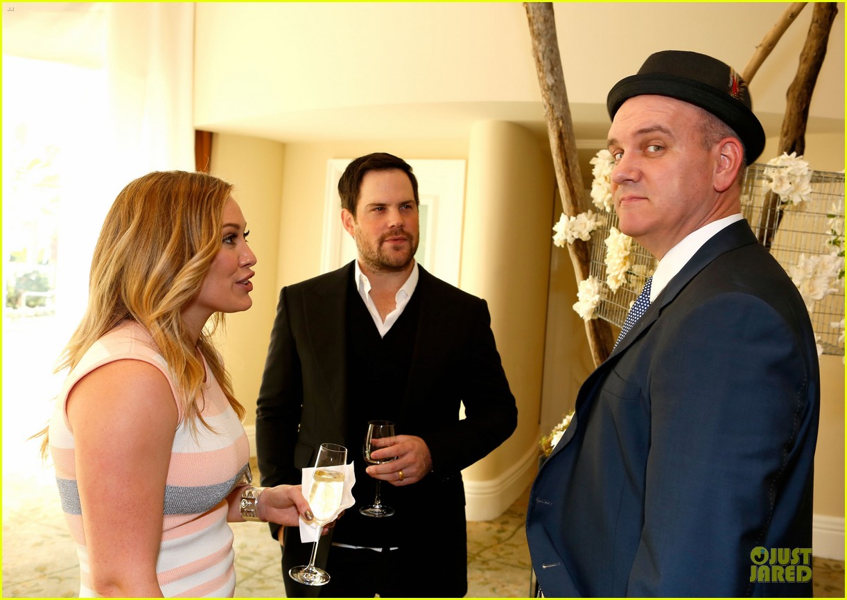 hilary duff mike comrie march of dimes 2012 16