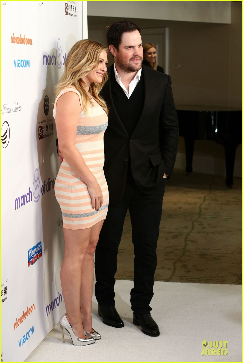 hilary duff mike comrie march of dimes 2012 20