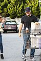 hilary duff & mike comrie grocery store kisses for luca 18