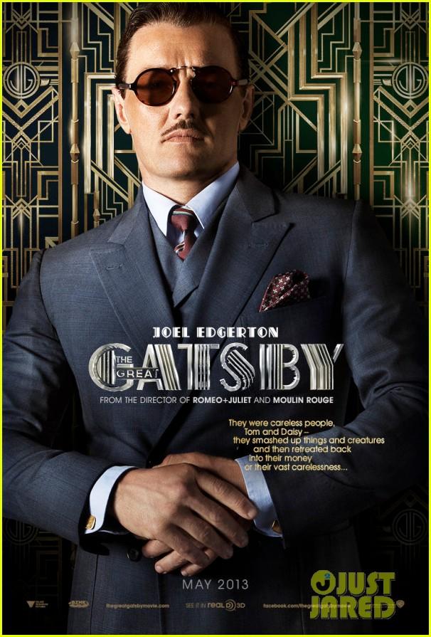 joel edgerton great gatsby poster blood felony set pics 01