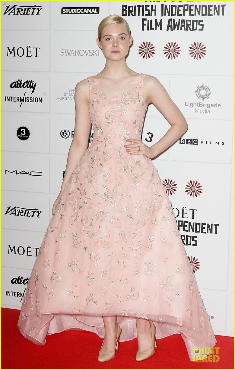 elle fanning & felicity jones british independent film awards 2012 08