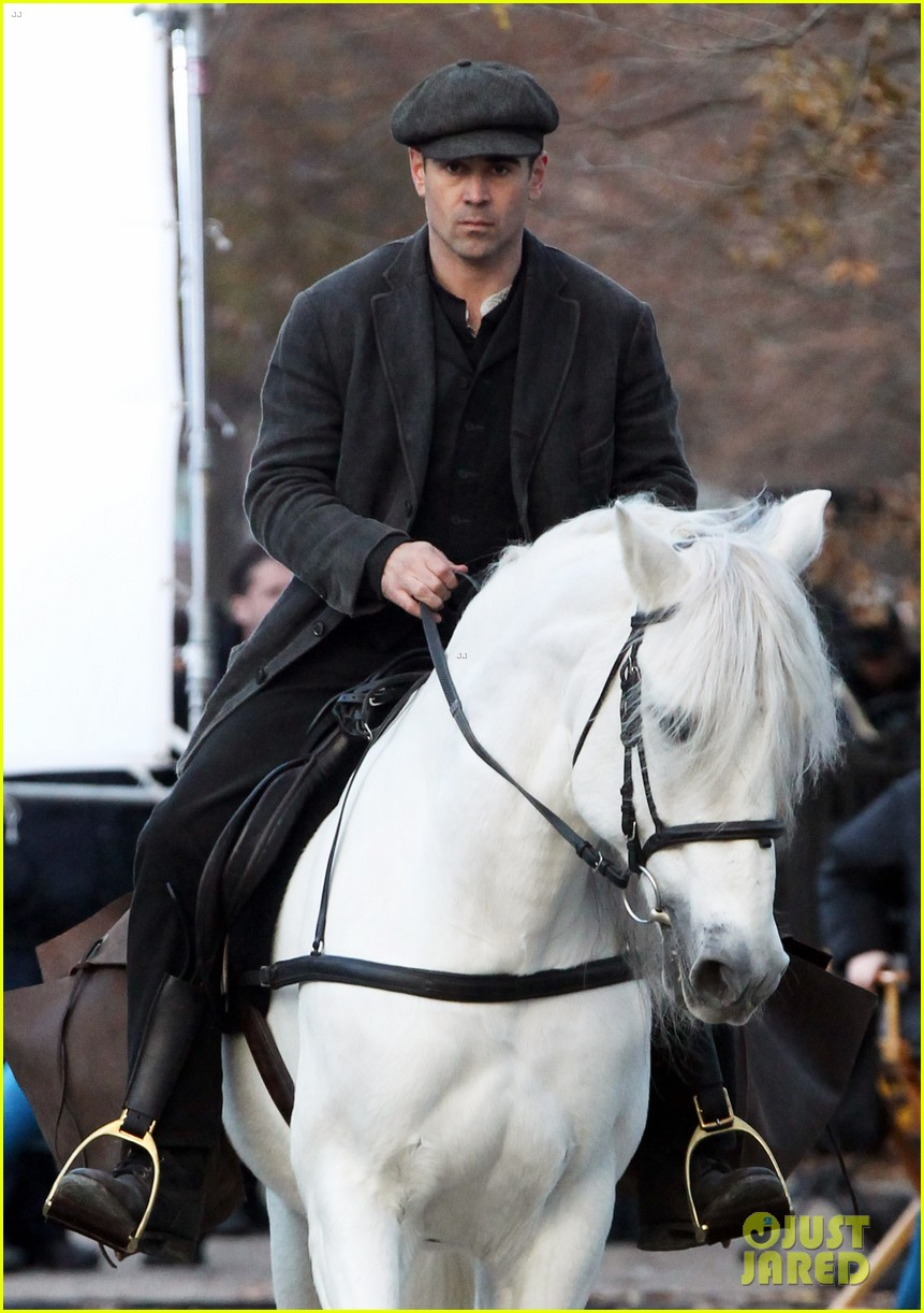 colin farrell horseback riding 192770585