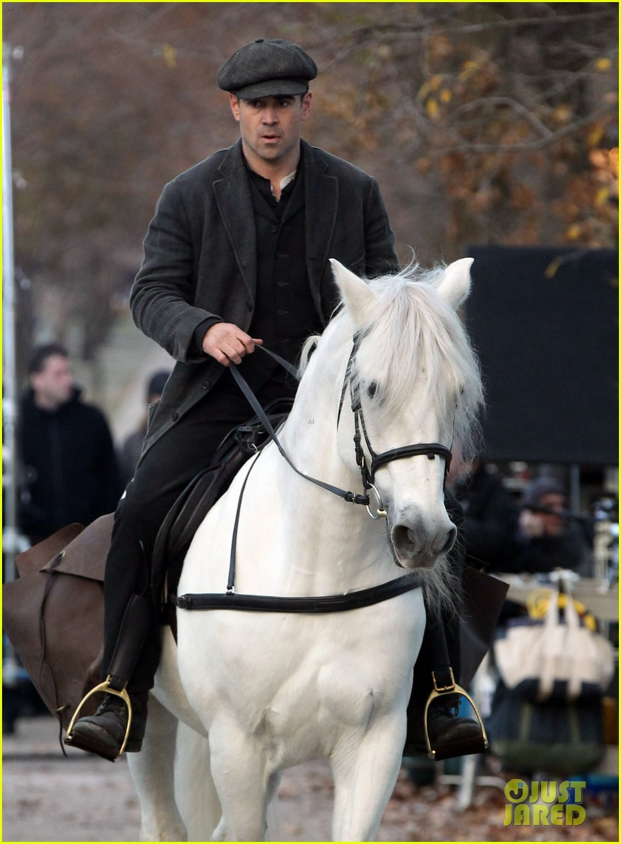 colin farrell horseback riding 212770587