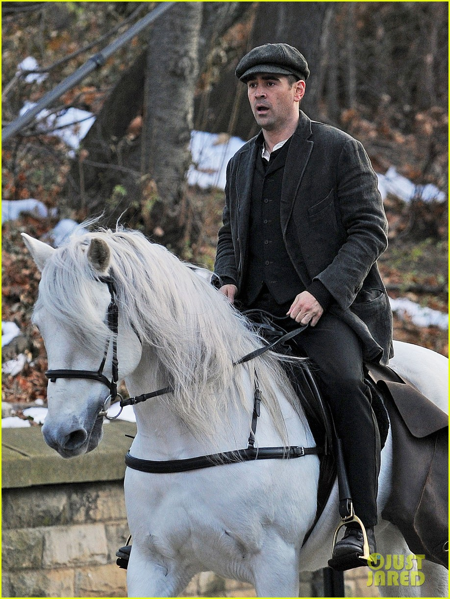 colin farrell horseback riding 25