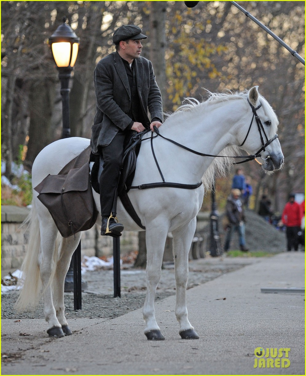colin farrell horseback riding 342770600