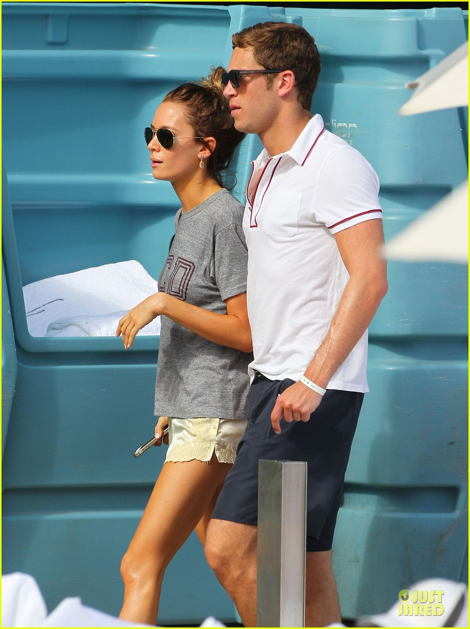 tom felton poolside with jade olivia 11