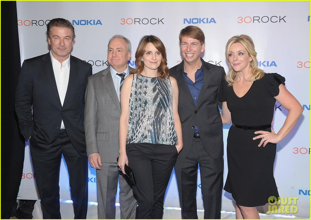 tina fey alec baldwin 30 rock series finale wrap party 07
